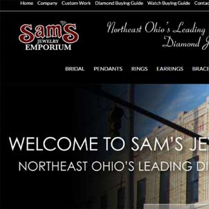 Sams Jewelry Emporium Website Link