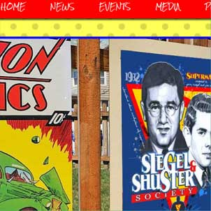 Siegel & Shuster Society Website Link