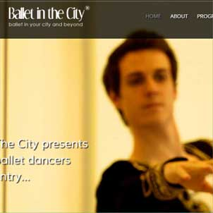 Ballet In The City Website Link